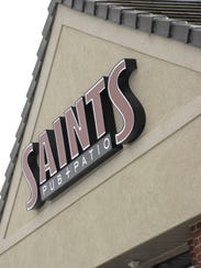 Saints Pub + Patio closed in the spring after being open about three years in West Des Moines.