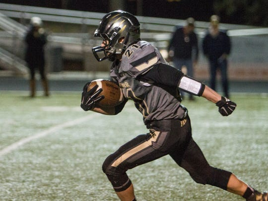 Desert Hills and Snow Canyon compete for the chance to advance in the 3AA Playoffs Friday, Nov. 6, 2015.