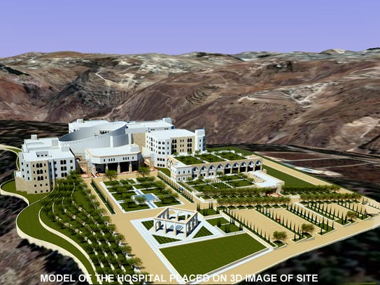 DeWolff architectural rendering of the King Hussein