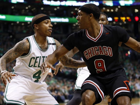 NBA: Playoffs-Chicago Bulls at Boston Celtics