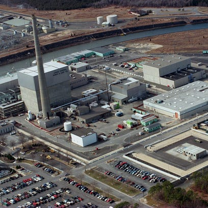The Oyster Creek nuclear power plant in Lacey.