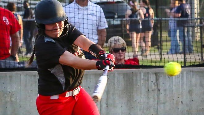 Stewarts Creek senior Loryn Sherwood has hit more than 40 home runs over the past two seasons.
