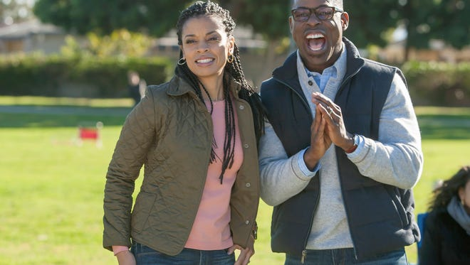 "Susan Kelechi Watson and Sterling K. Brown are among the stars of NBC's  ""This Is Us"" TV show."