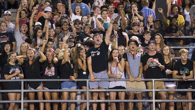 Escambia vs West Florida high school football game in Pensacola on Thursday, August 24, 2017.