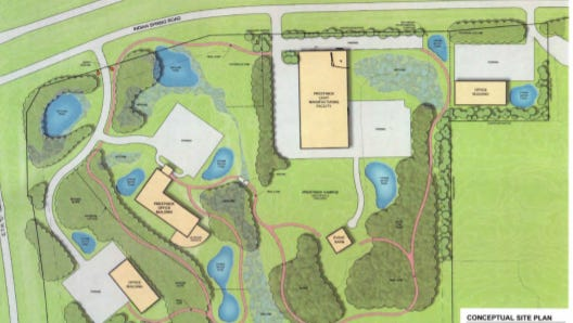 Prestwick Group is proposing a corporate campus in Delafield. A public hearing on the project is scheduled for Oct. 25.