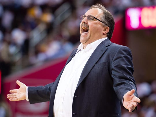 Stan Van Gundy had an up-and-down tenure as Pistons coach and president.