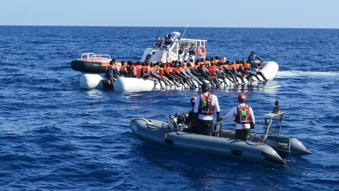 Refugee rescue