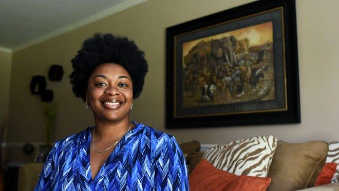 Jerra Allen is part of the Army Reserves and works as the officer manager at the Asthma and Allergy Clinic in Hattiesburg. Allen also runs an online clothing boutique, is president of her neighborhood association, teaches Zumba classes and volunteers at her church.
