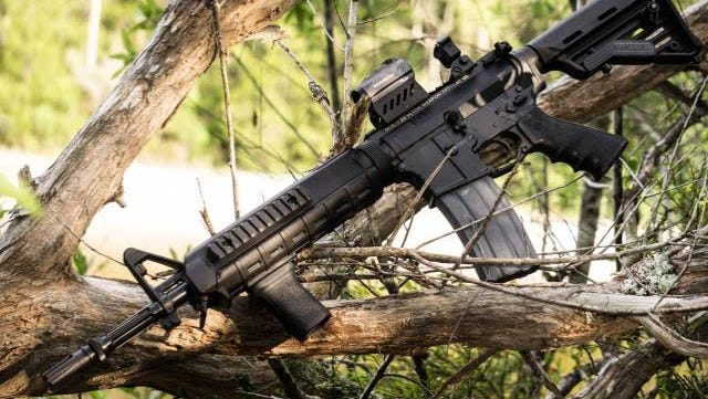 Sen. Greg Evers announced on Monday that he will give away a custom-made AR-15 rifle to a Facebook fan on July 4.