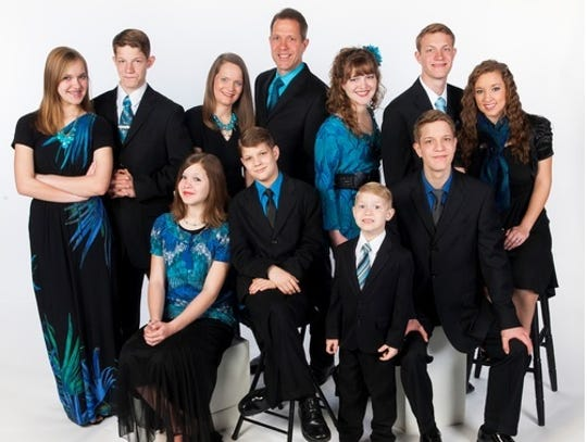 The Allen Family  will perform a 6 p.m. concert at