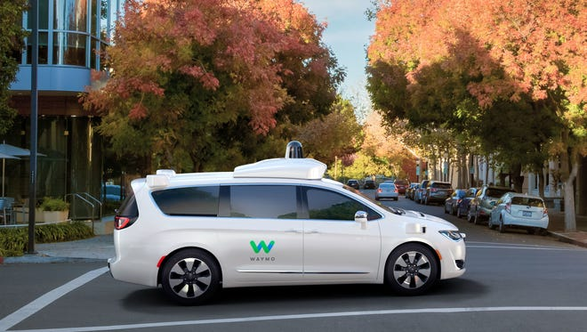 Waymo, formerly the Google self-driving car project, and FCA will debut the self-driving Chrysler Pacifica minivans Jan. 8 at the North American International Auto Show.