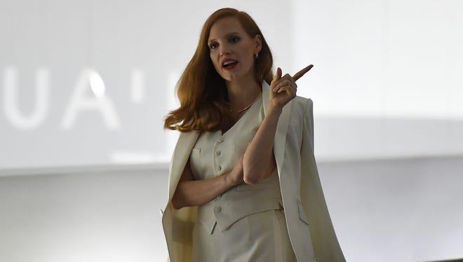 Jessica's Ralph Lauren look.