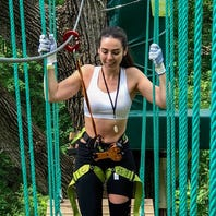 Go Tarzan on Fairmount Park's new Treetop Quest course