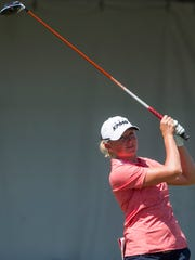 Stacy Lewis during round four of the Yokohama Tire