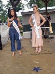 Miss Cumberland County Olivia Cruz (left) and Miss Vineland
