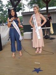 Miss Cumberland County Olivia Cruz (left) and MissVineland