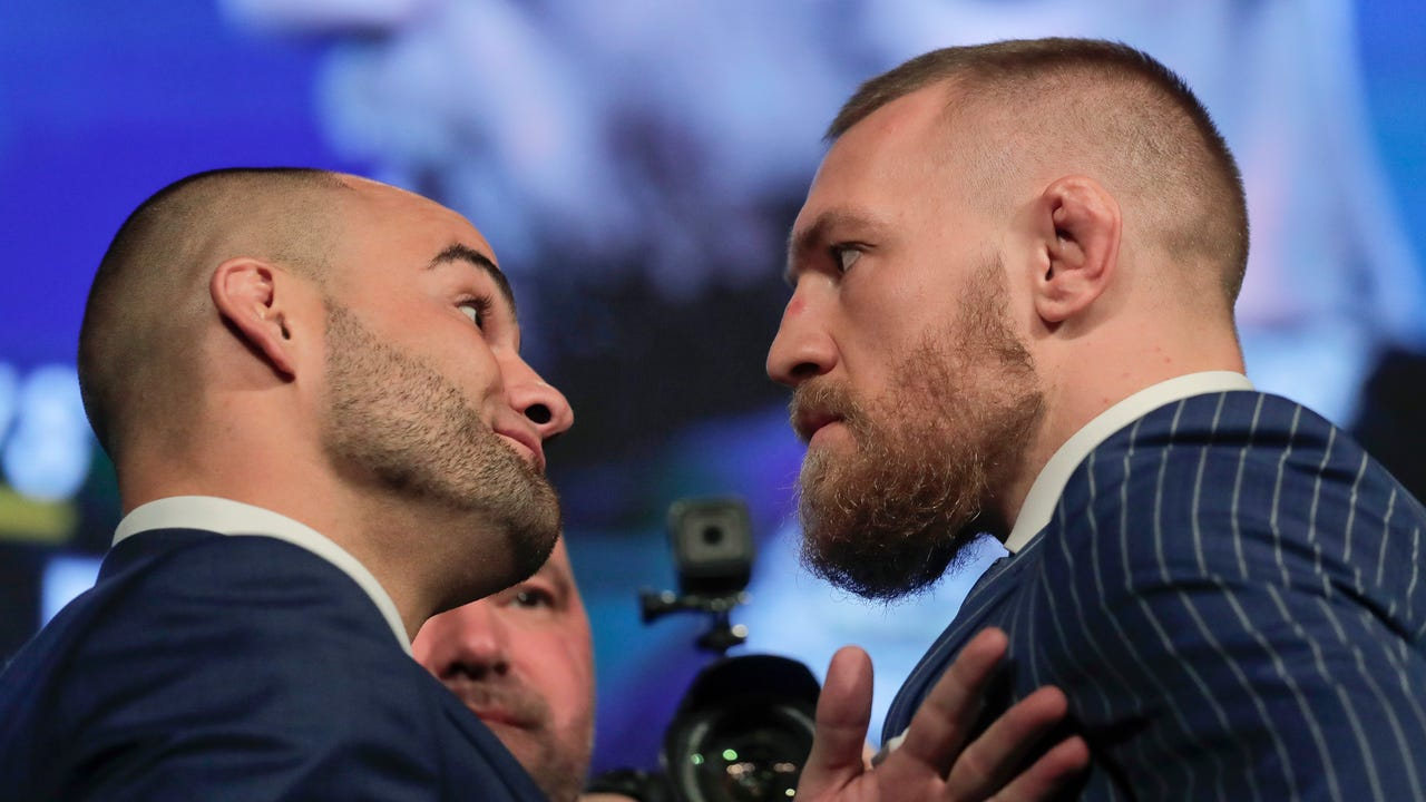 Conor McGregor is back! UFC 205 fighters face off