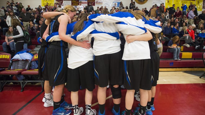 The Poudre High School girl's basketball team is the highest seeded local team in the playoffs, earning the No. 2 seed in Class 5A.