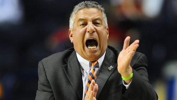 Bruce Pearl, shown here during 2015 SEC Tournament,