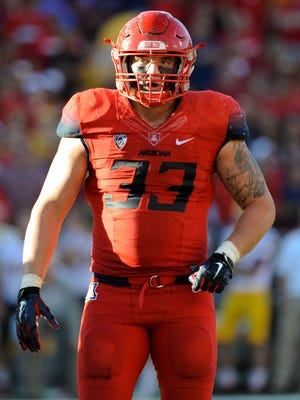 Scooby Wright had 14 sacks and 27 tackles for loss for Arizona.