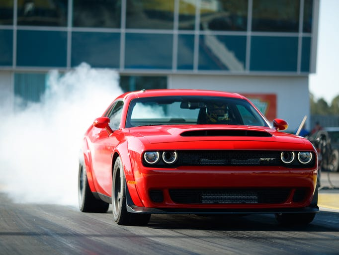 Fiat Chrysler Automobiles Dodge performance brand officially