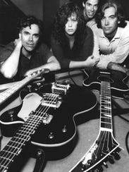 The Cowsills in 1999: Bob (from left), Susan, John