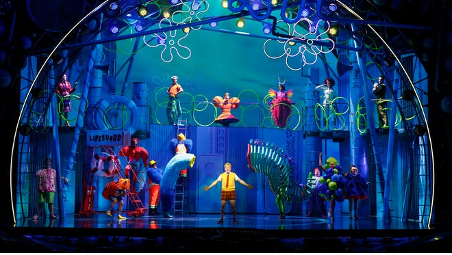 """""""Spongebob Squarepants,"""" which opened to very good reviews in Chicago is heading to Broadway on Dec. 3."""