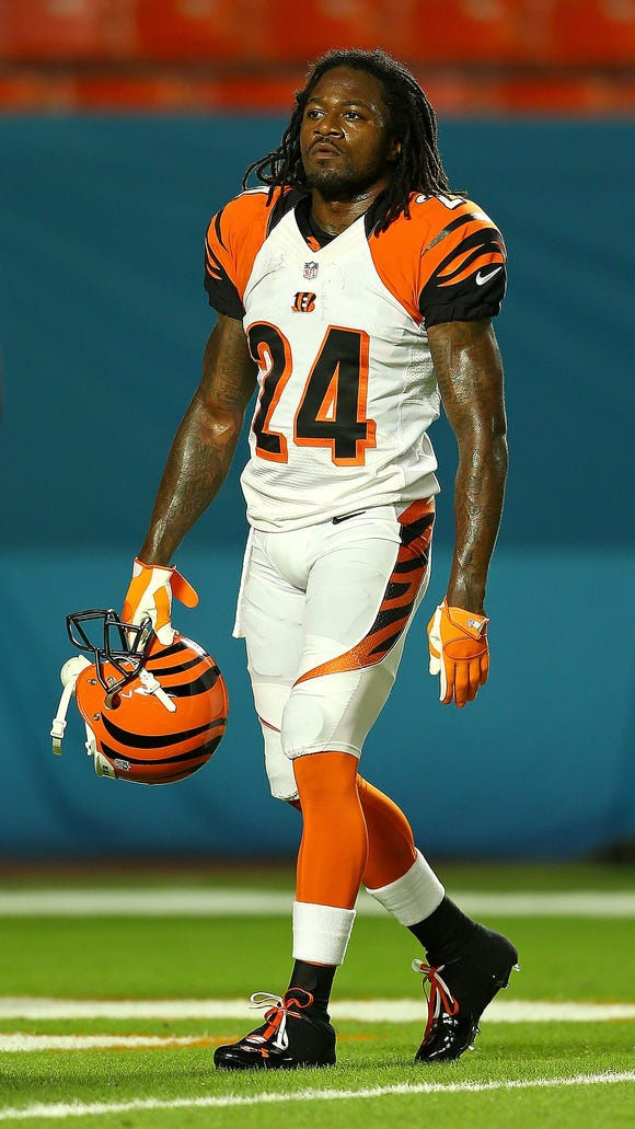 "Bengals cornerback Adam ""Pacman"" Jones"