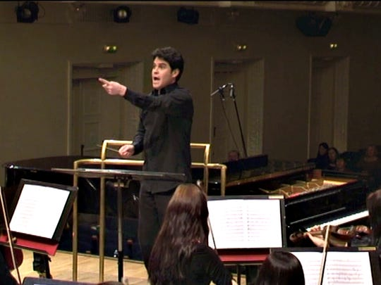 Claudio Ordaz is the first Mexican conductor to found his own orchestra in Europe. Ordaz is a graduate of the University of Texas at El Paso.