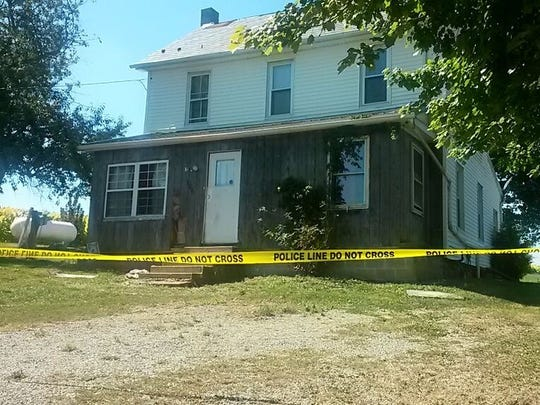 State police said Foday Cheeks, 31, and Danielle Taylor, 26, were fatally shot inside 706 Brown Road in Fawn Township on Sept. 13, 2016. (Photo by John Joyce)