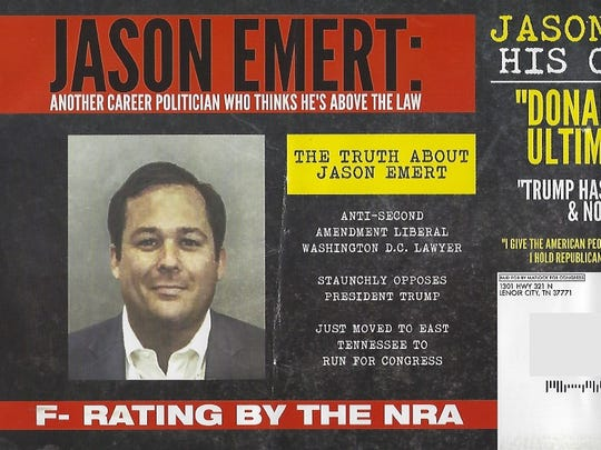 The ad against Second Congressional candidates Jason