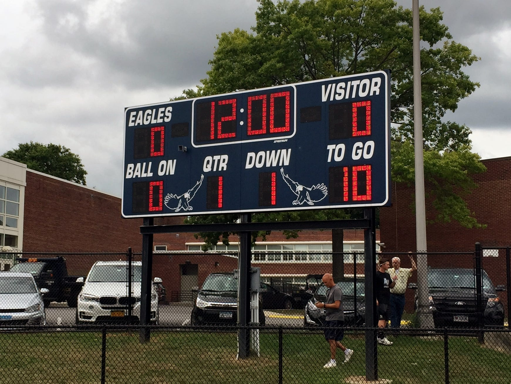 Somers opened the season with an 8-1 win at Eastchester.