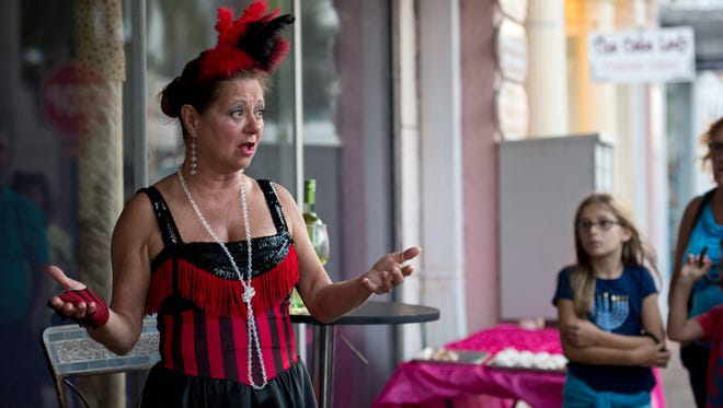 Ghosts of Fort Pierce Past walking tours are Oct. 24-25 in downtown Fort Pierce.