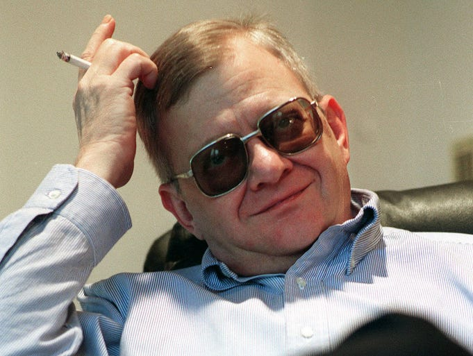 Best-selling author Tom Clancy died on Oct. 1 in Baltimore. Clancy was the author of more than 25 fiction and non-fiction books. He was 66.