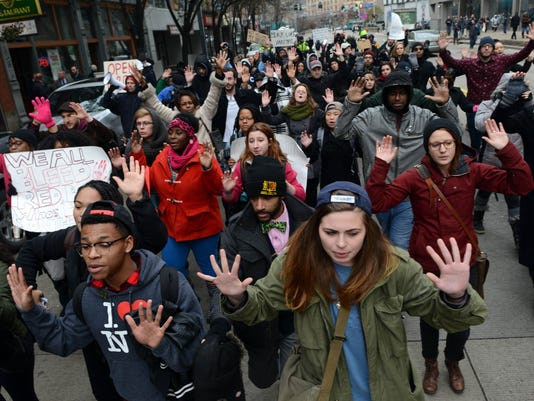 Protests following failure to indict officer who killed Eric Garner