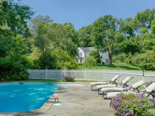 The Bedford estate of Michael Douglas and Catherine Zeta-Jones on Guard Hill Road is up for sale at $8.1 million