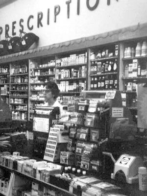 Sylvia L. Snellbaker shared these photos of the former Peoples Drug Store in downtown York, where she worked from 1970 to 1973. submitted