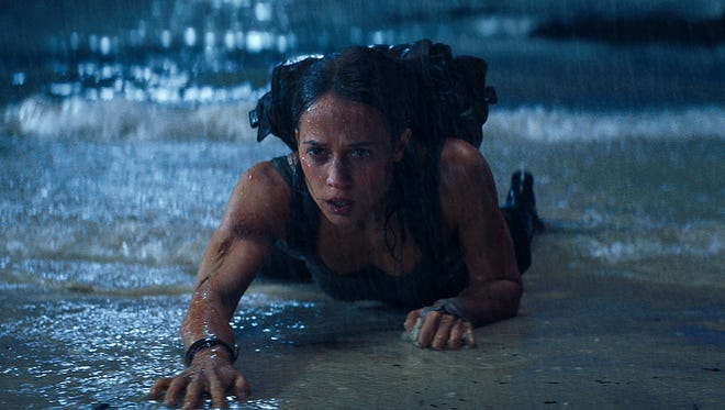 Lara Croft (Alicia Vikander) quests to find a mysterious tomb and her missing father in 'Tomb Raider.'