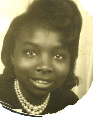 "Gloria Mills at age 14. The retired Detroit educator was among the thousands who participated in the ""Walk To Freedom"" with Dr. Martin Luther King, Jr. 50 years ago."