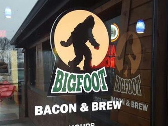 Bigfoot Bacon & Brew opened in April 2017 in the former Jethroni Pepperoni restaurant location in Altoona.
