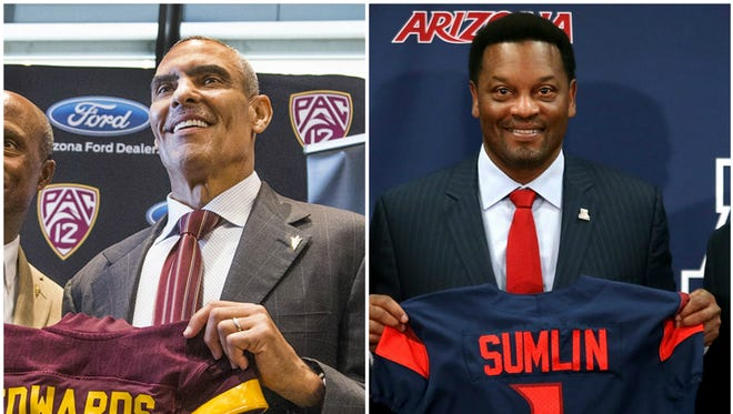 Which coach has the better contract: Herm Edwards or Kevin Sumlin?