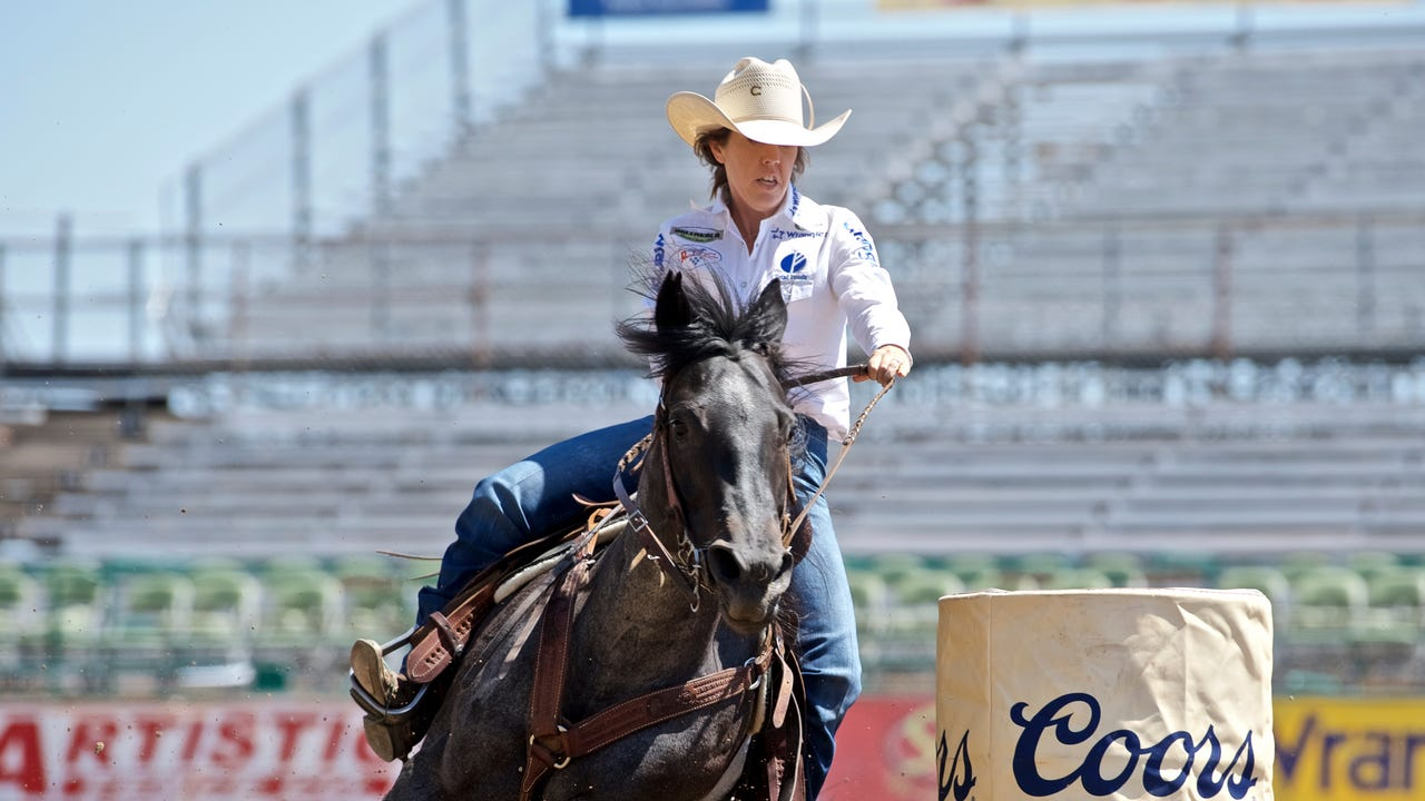 Nellie Miller talks about her barrel racing career. She's the No. 3-ranked barrel racer in the world and is set to compete in December at the National Finals Rodeo.
