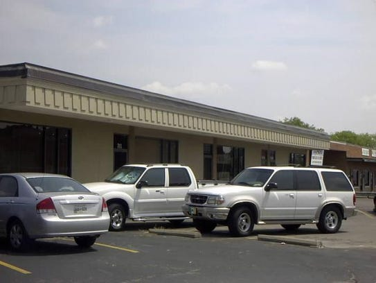 The building at 711-713 Main St., which was once home