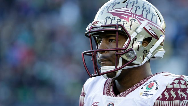 Florida State quarterback Jameis Winston is likely to be the No. 1 overall draft pick.