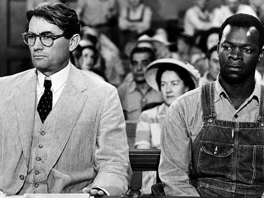 'To Kill a Mockingbird'   Gregory Peck as Atticus Finch