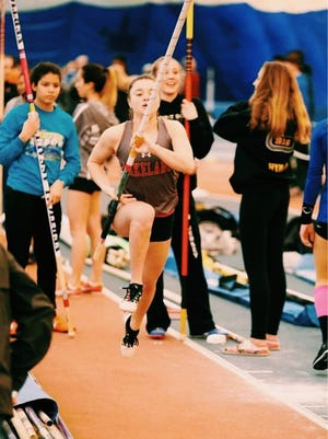 Lakeland junior Lilly Brown earned First Team All-Passaic County Indoor Track honors in the pole vault.