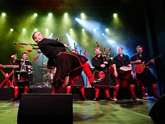 The Red Hot Chilli Pipers will perform at Tarrytown