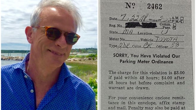 Gary Urgonski, 72, of South Dennis, Mass., can now safely visit York again after paying a $4 parking ticket from 1978.
