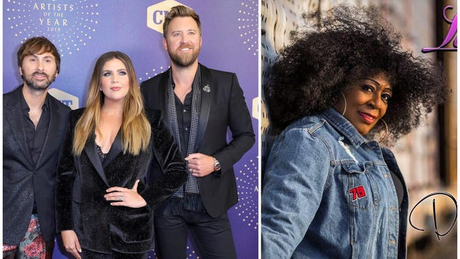 The country group formerly known as Lady Antebellum video chatted with blues singer Lady A after she blasted the band for changing its name to the stage name she had been using for more than 20 years.