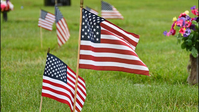 This Memorial Day weekend, local organizations and individuals are coming together to commemorate the veterans who served our country. [PAUL CHURCH / COURIER-TRIBUNE FILE PHOTO]